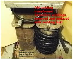 Resistance Welding Transformer Design Spot Welder Homemade From Old Arc Welding Transformer And