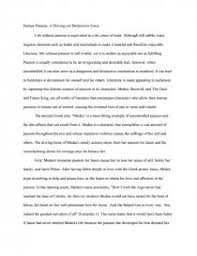 medea element of human passion research paper zoom