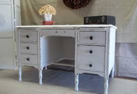 painted office furniture. Shabby Chic Office Desk With Drawers White Painted Furniture O