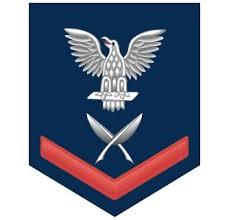 Navy Red E 4 Yeoman Yn Sticker