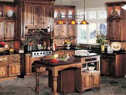rustic kitchen cabinets. Awesome Rustic Kitchen Cabinets With Best Colors For House C