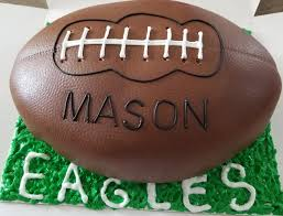 Football Cookie Cake Designs Football Chocolate Cake 6 10 18 Sherons E D Cakes