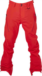 Bonfire Snow Pants Size Chart Bonfire Surface Ski Snowboard Pants M Red