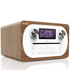 Evoke C-D6 (Walnut) - Bluetooth Radio with CD Player | Pure