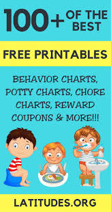 Free Printable Behavior Charts For Home School Sticker