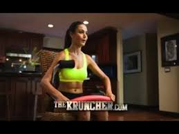 the kruncher mercial the kruncher as seen on tv ab workout machine with the sarge lee reherman