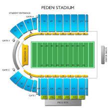 The Venue Athens Ohio Seating Chart Peden Stadium 2019 Seating Chart