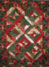 232 best Christmas Quilts images on Pinterest | Advent calendar ... & Image detail for -Quilts + Color: Almost Crazy Christmas Quilt Adamdwight.com