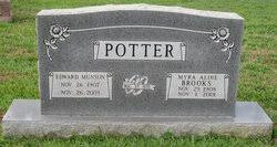 Myra Aline Brooks Potter (1908-2001) - Find A Grave Memorial