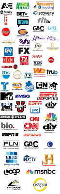 Spanish Tv Chanel Spanish Television Channel Logos Clipart Vector Design