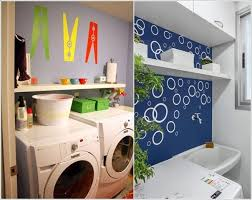 AI- Cool Ideas -to- Decorate -Your -Laundry -Room Wall-
