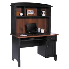 office depot glass computer desk. Christopher Lowell Shore Mini Solutions Computer Desk With Hutch 63 14 H X 47 12 W 23 D Antique Black By Office Depot Glass N