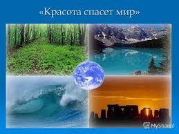 Презентация на тему Красота спасет мир Экологическая культура  1 Красота спасет мир