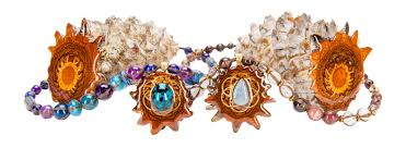 organic pendants crafted from the world s densest pinecone