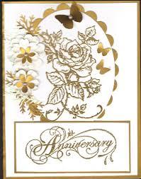 Wedding Card Design Golden Glitters Rose Flower Depiction