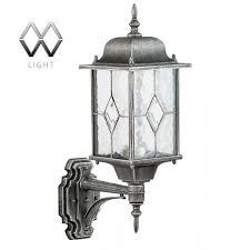 <b>Уличный настенный светильник MW-Light</b> Бургос 813020101 ...