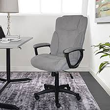 R Serta Style Hannah II Office Chair Harvard Gray Microfiber