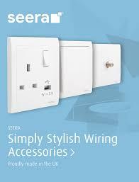 Distributor Plate Design Scolmore Group Manufacturer Distributor Of Electrical