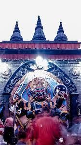 nepal, kathmandu, kaal bhairav, god ...