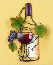 Wine Bottle And Grape Kitchen Decor Wine Dine Plaque Wine 2