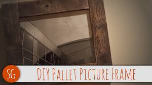 easy diy rustic wood picture frame that you can make over you