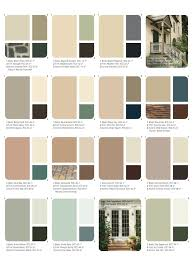 Set of beautiful, natural colors (Ange& Dollhouse: Choosing the Exterior Color  Scheme)