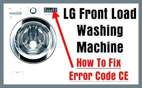 Lg Washing Machine Manual Front Loader Lg Front Loader