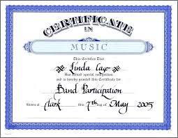 Sample Baptism Certificate Template Enchanting Music Award Certificate Template Certificate Templates Music Award