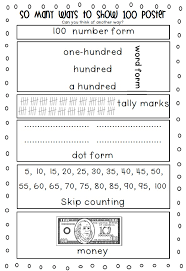 100th Day of School Printables - FIRST AND SECOND GRADE | School ...
