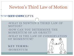 newton s third law of motion powerpoint