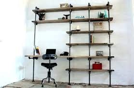 office shelving units desktop shelf unit brooks curved desk and by urban grain small wall mounted office shelving units above desk