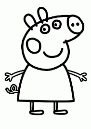 Small Picture printables comment to Peppa Pig Coloring Pages For Kids Free
