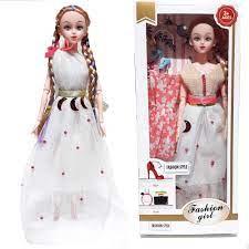 Báo giá Đồ chơi búp bê barbie có khớp cho bé gái, Quà tặng sinh nhật dễ  thương, Kèm theo phụ kiện đầm búp bê (cao 30cm) chỉ 65.300₫