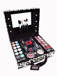 print caboodles paris memories leopard vanity case beauty contouring kit cosmetic set gift travel make up
