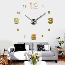 image is loading 3d wall clock wall watch modern design hang