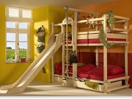 cool kids beds with slide. Wonderful Kids Double Bunk Bed With Slide 1560 Youth Beds Slides Intended Cool Kids E