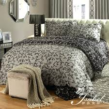 duvet covers sets king ink ivy blue duvet cover set king paisley with regard to modern