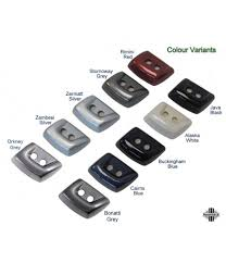 Land Rover Discovery 4 Colour Chart Land Rover Discovery 3 Headlight Washer Jet Covers Zambesi Silver