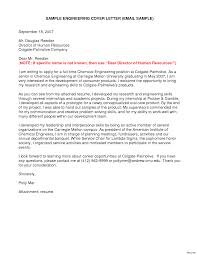 Ideas Of Entry Level Chemical Engineering Cover Letter Examples In