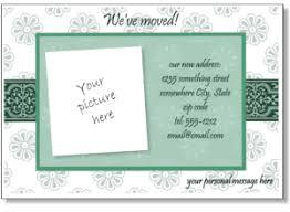 Printable Change Of Address Postcards Download Them Or Print