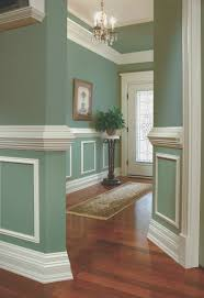 Chair Rail Molding And Two Tone Paint  Design Build ProsModern Looking Chair Rail