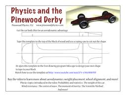 Pinewood Derby Template Beauteous Pinewood Derby Templates Customizable Pinewood Derby Car Template