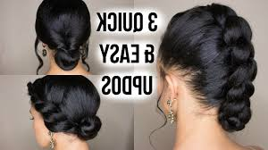 15 Collection Of Quick And Easy Updo Hairstyles For Black Hair