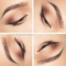 everyday winged liner makeup look