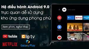 Android Tivi Sony 4K 65 inch KD-65X9500H - Hệ điều hành Android 9.0, Công  nghệ quét