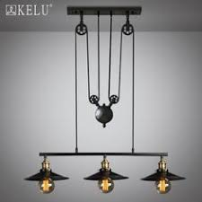 loft rotterdam industrial rock pendant lighting. Loft-Vintage-Retro-Iron-Black-Chandelier-Industrial-pulley-. Industrial Pendant LightsPendant Loft Rotterdam Rock Lighting