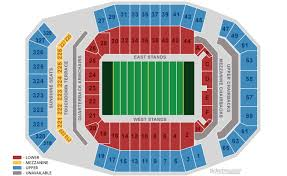 Vanderbilt Football Stadium Virtual Seating Chart Tickets University Of Florida Gators Football Vs
