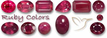 Ruby Gemstone Color Chart Ruby Information The Gemstone Of Passion And Seduction