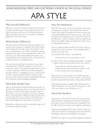 Examples Of Apa Style Essays Essay Format Samples Apa Writing Style
