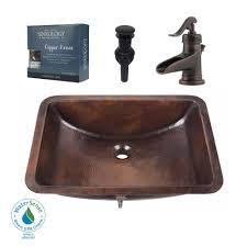 All In One Bathroom Sinkology Pfister All In One Curie Undermount Bathroom Sink Design